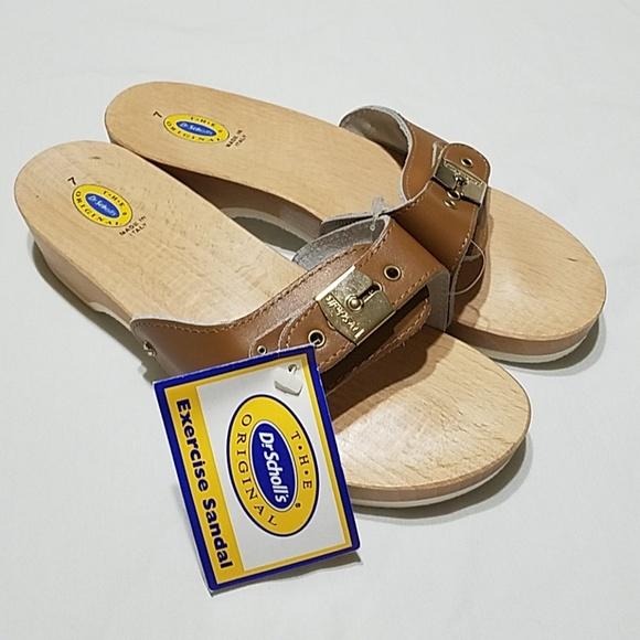 5a88dbeaab47 True Vintage Dr. Scholl s Exercise Sandal - Size 7